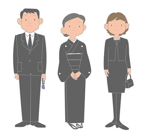 遺族の服装2