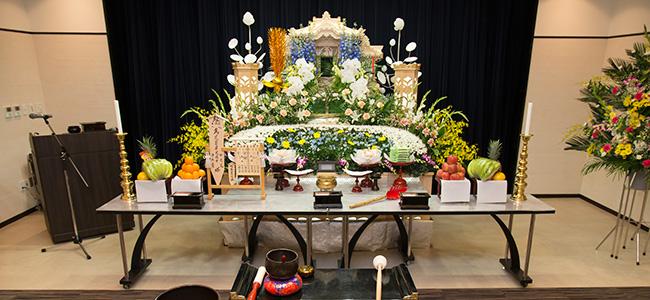 家族葬の流れ1