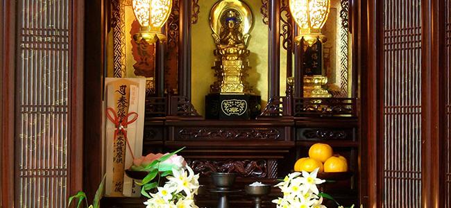 仏壇処理1