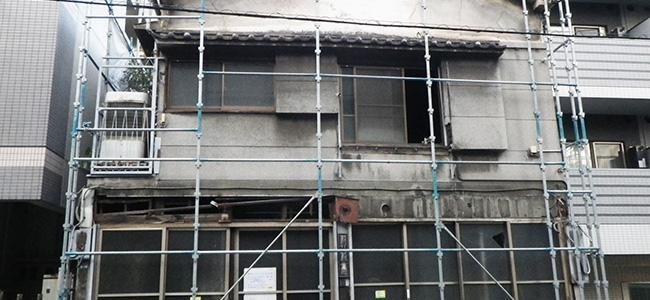 建物解体1